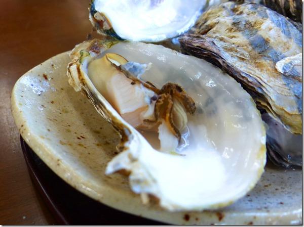 淡路の焼き牡蠣