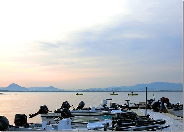 琵琶湖南湖バス釣り大会