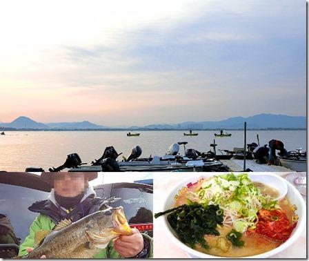 3月琵琶湖南湖バス釣り