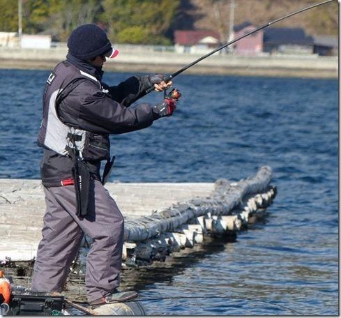 チヌふかせ釣り浮き釣り違い