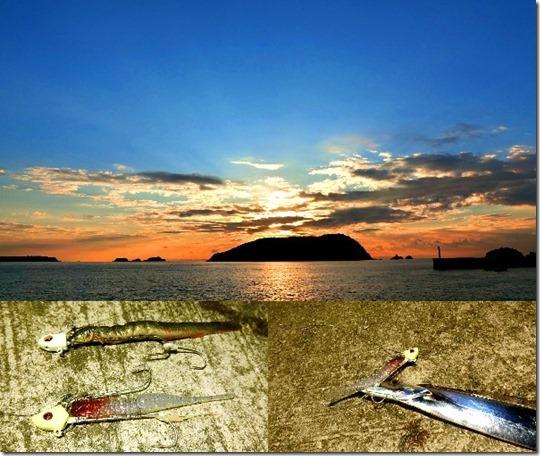 フラップ釣法とドジョウの引き釣り比較