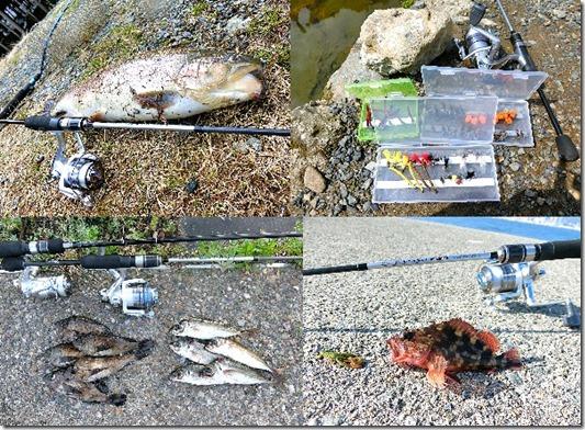 管理釣り場のフェザージグの釣りにぴったりのロッド・アジング・穴釣り・メバリングにも