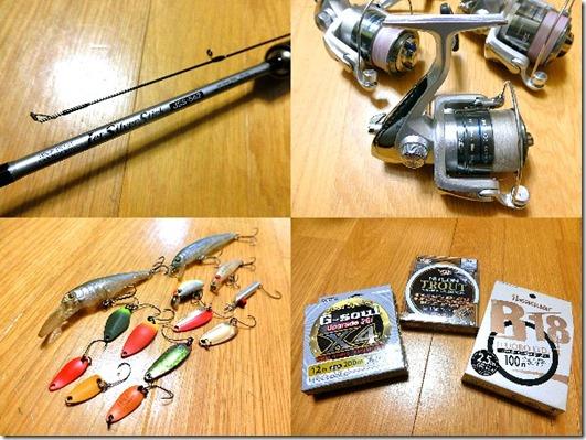 管理釣り場で必要な物一覧