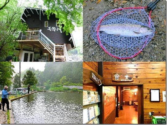 千早川マス釣り場の紹介