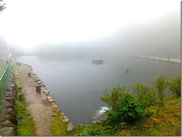 千早川マス釣り場2個目の池
