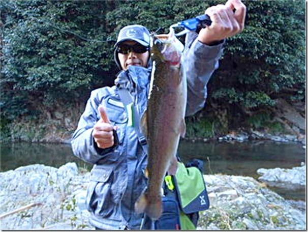 芥川マス釣り場