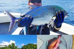 パラオへGT釣行初日