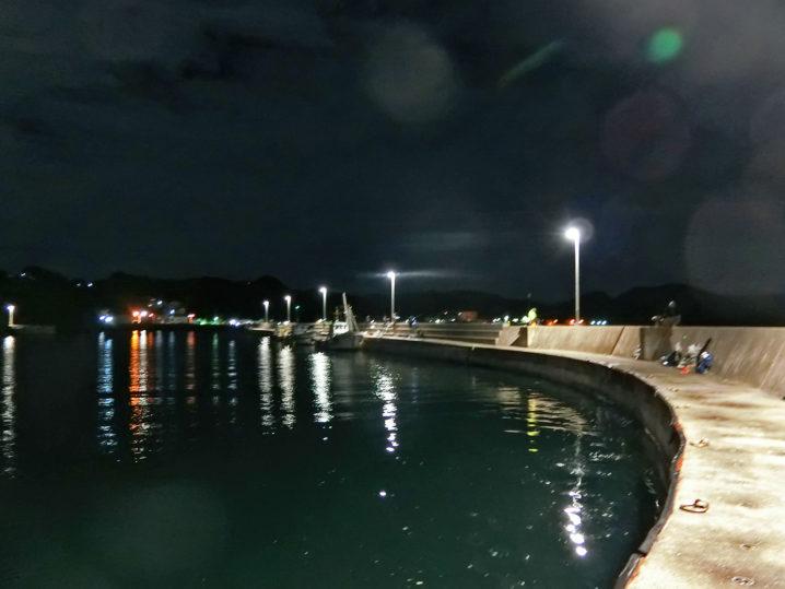 坊勢島ルアーでのタチウオ釣り次のポイントに到着