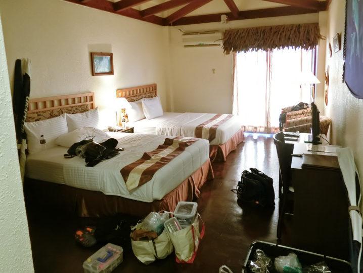 パラオGT釣行で泊まったホテル