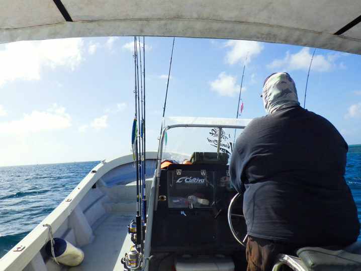 パラオGT釣行2日目終了1