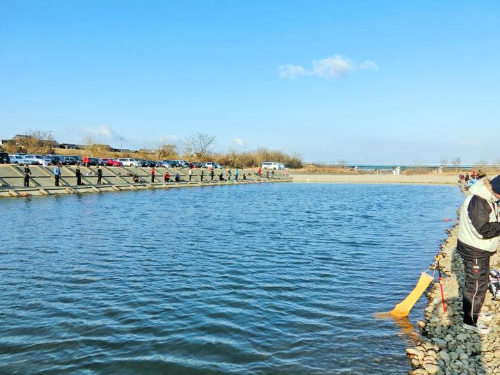 北方川釣り体験場で約1時間釣れない1