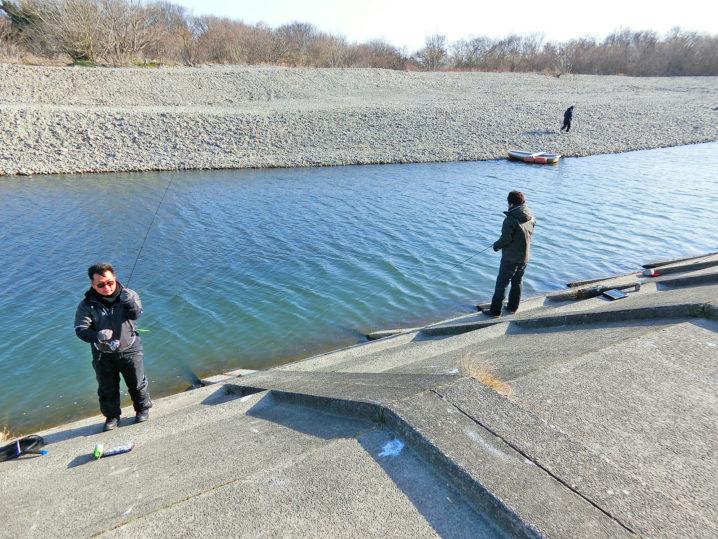 北方川釣り体験場でニジマス(トラウト)を釣る為にはポイント選択が大事