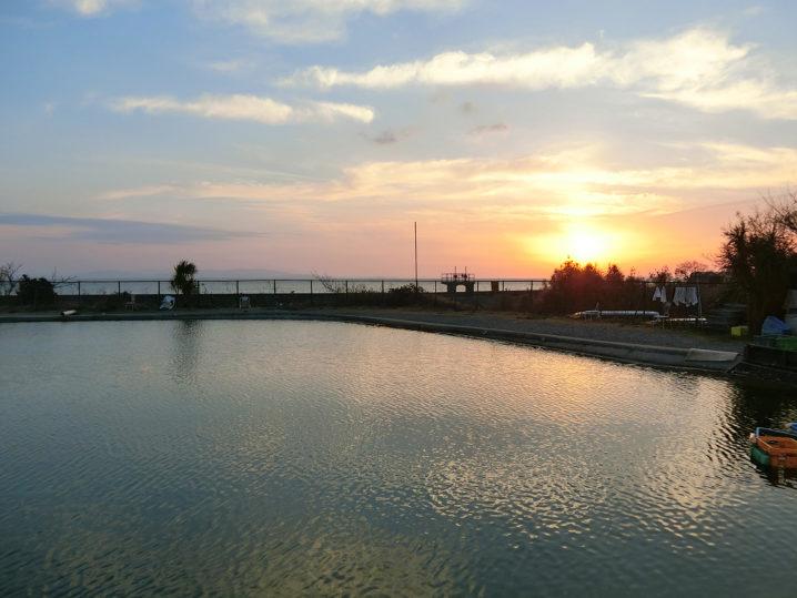爆釣美浜フィッシングパークでのルアー釣りが始まる