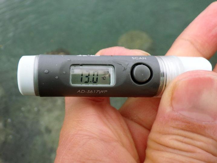 メバリング開始時の水温