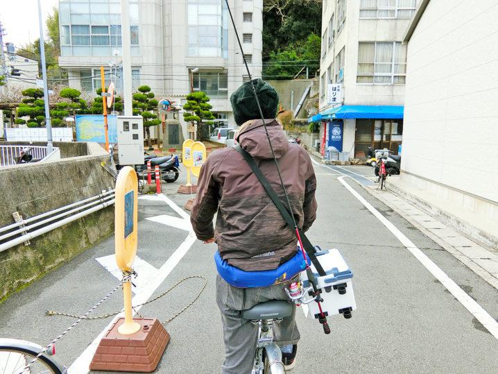 家島一周サイクリングしてメバリングポイントを探していきます