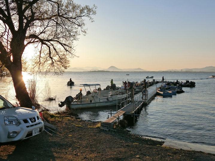 琵琶湖南湖のどこでバス釣り大会は開催されたの?