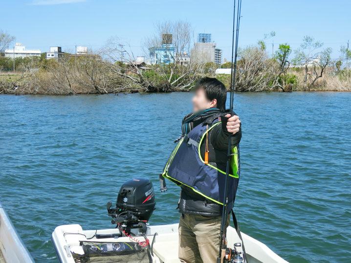 ニケさんによる4月中旬の琵琶湖南湖の釣りの様子