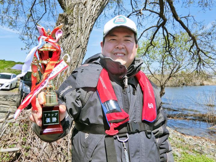 2019年のバス釣り大会最初の優勝者は【キャノピーさん】