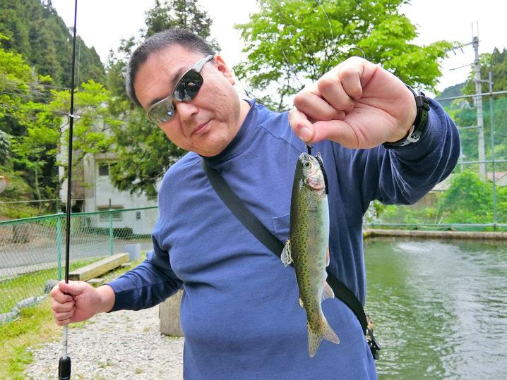 管理釣り場経験者の友人が入れ食い!2
