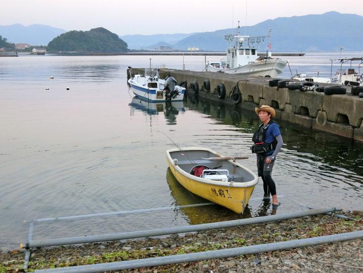レンタルボートを出して釣り開始!