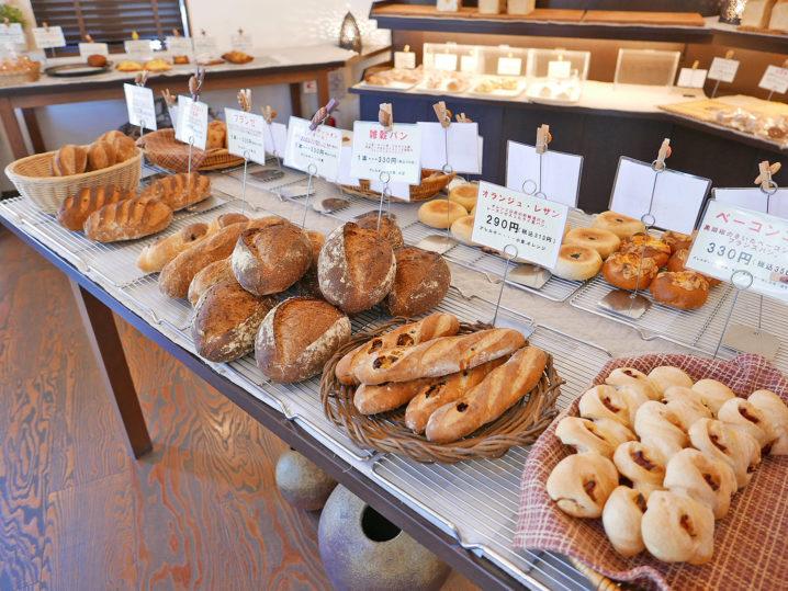 美味しそうなパンがズラリ!