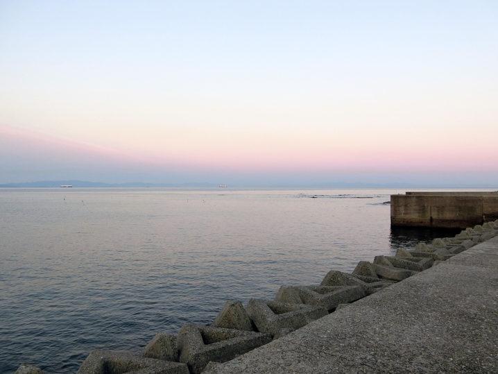 朝4時30分くらいに小佐ボート周辺に到着