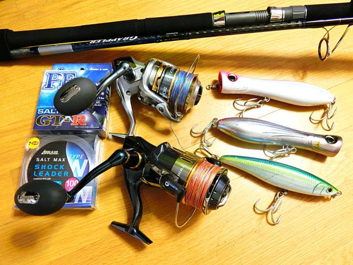 初めてのGT(ロウニンアジ)を釣る為に必要なタックル・ルアー・釣り方について