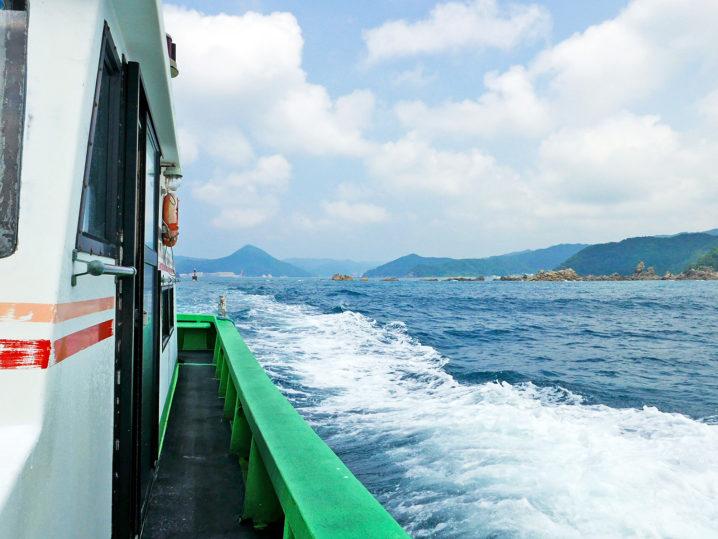 午後0時の渡船の船で帰って釣り終了