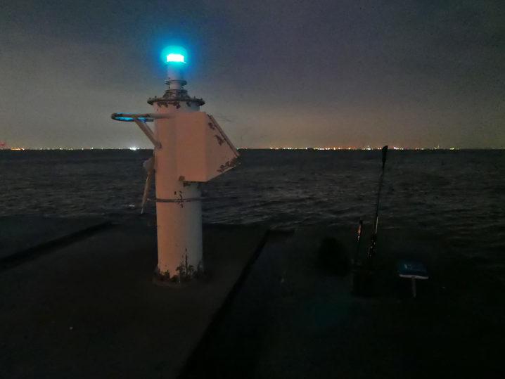 無事にポートアイランド沖の端部分のポイントを押さえる事が出来ました