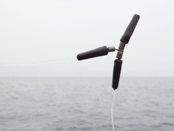 オバマリグにはトリプルサルカン+ウキ止めゴムの仕掛けがオススメ