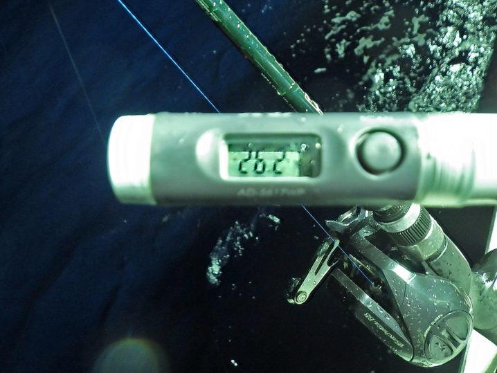 水温は約26.2度