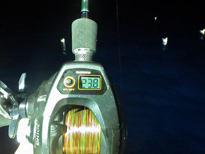 この日は水深23~28mが良かった