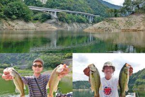 2019年9月下旬一庫ダムにてレンタルボートでバス釣り|5人各自の釣りをまとめて分かった攻略法とヒットルアーとは