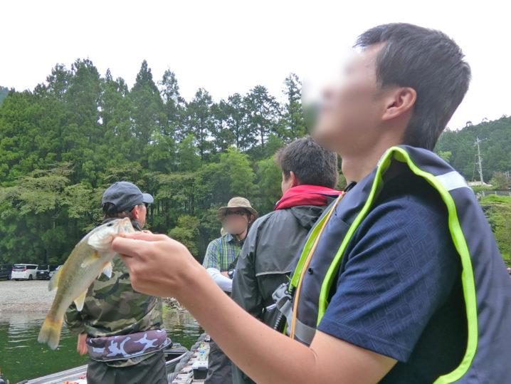 ニケさんの9月中旬七色ダムのブラックバス釣りの様子