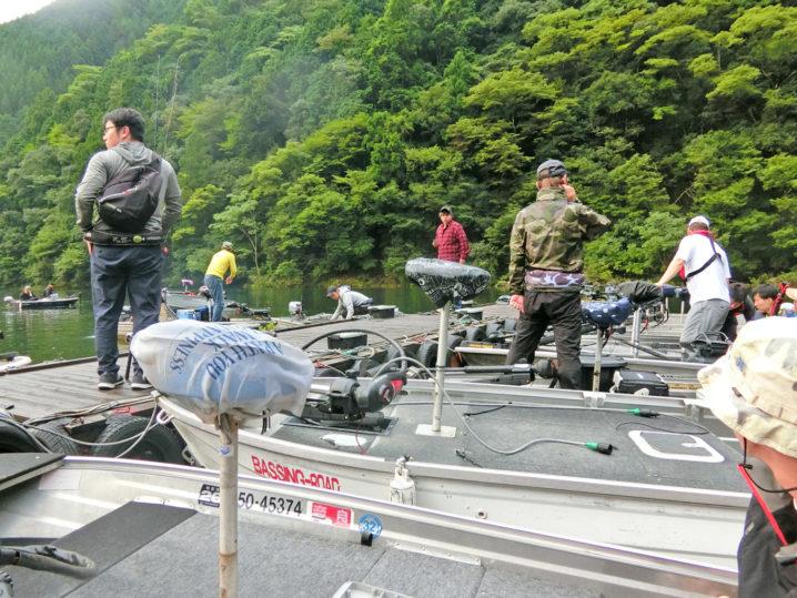 9月中旬の七色ダムブラックバス釣り大会のルール