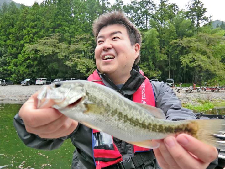 キャノピーさんの9月中旬七色ダムのブラックバス釣りの様子