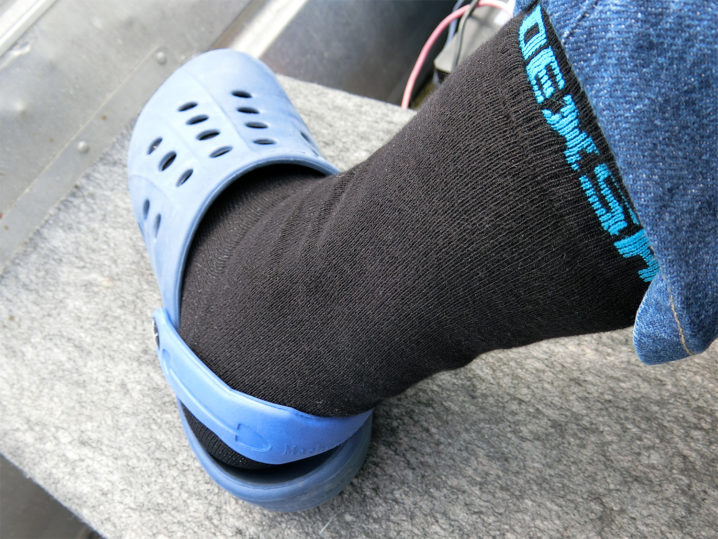 濡れても大丈夫な防水透湿靴下