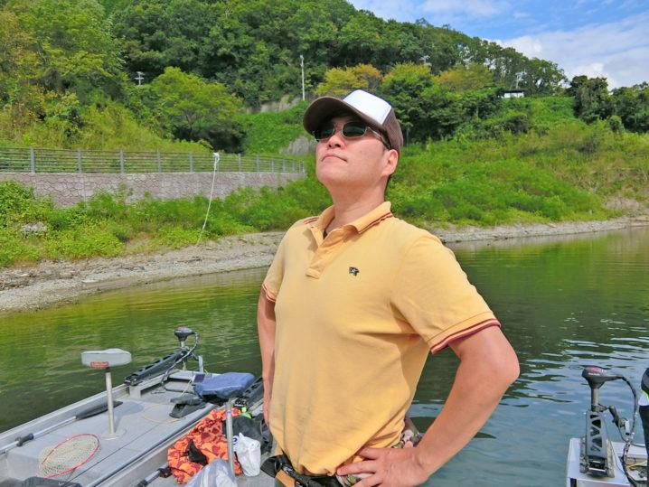 プロさんの9月下旬一庫ダムのブラックバス釣りの様子