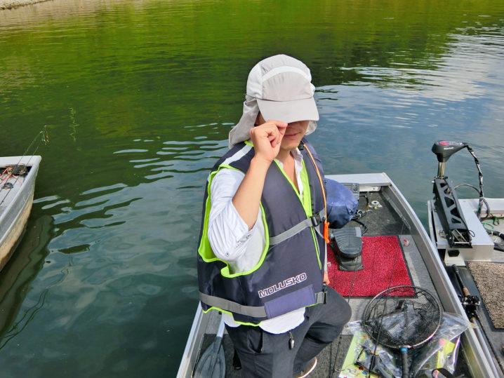ニケさんの9月下旬一庫ダムのブラックバス釣りの様子