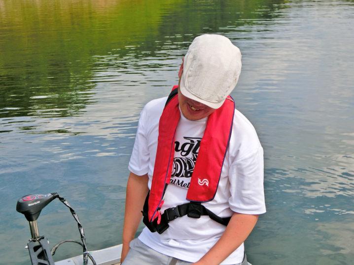 コージーさんの9月下旬一庫ダムのブラックバス釣りの様子