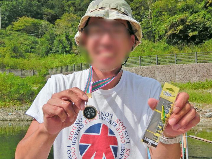 2019年第4回バス釣り大会優勝者は【ランハイさん】