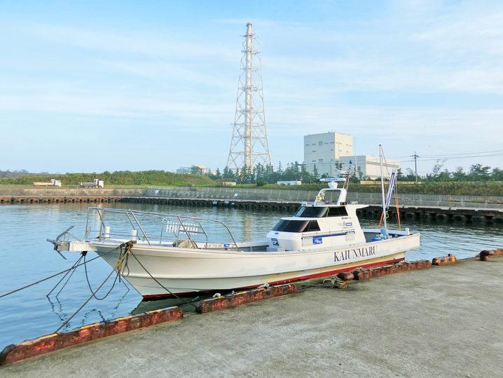 午前6時30分に海運丸の船着き場に到着