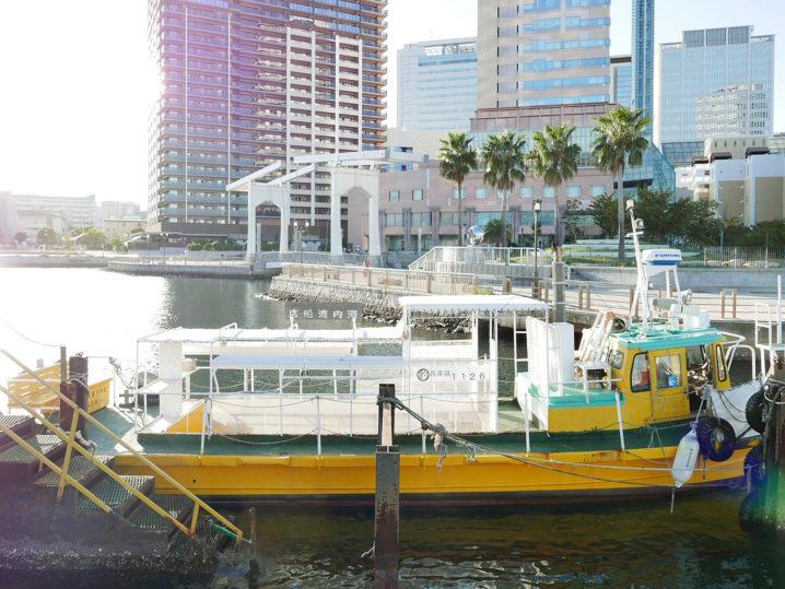 午後5時の渡船に乗って和田防波堤へ