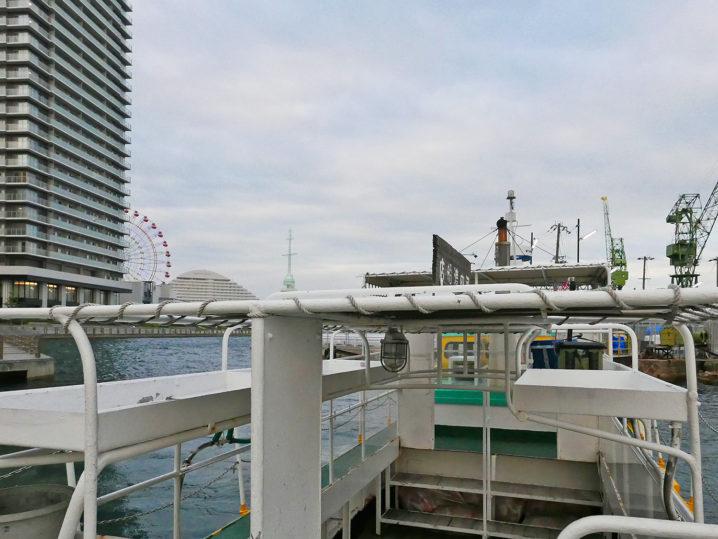 午後5時の渡船を使って和田防へ