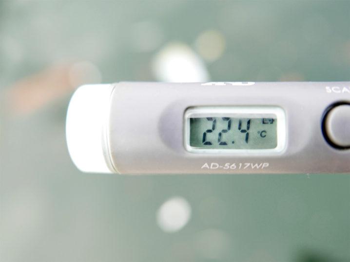 海水温は約22.4度