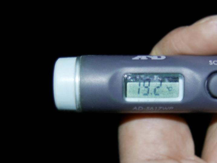 海水温は約19.2度