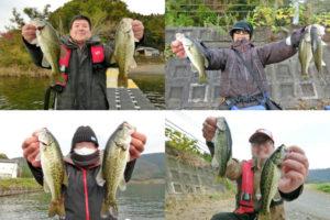 11月中旬の奥出湾・大浦湾でバス釣り大会|1位2位のメタルバイブとフェザージグのヒットパターンを紹介