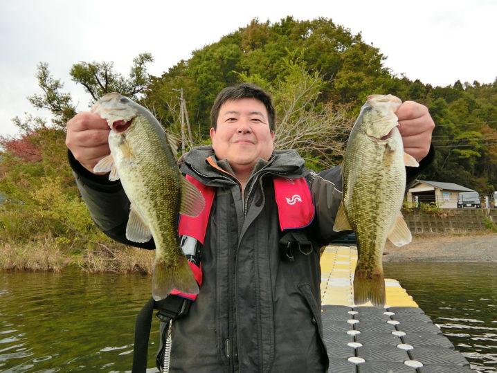 キャノピーさんの11月中旬大浦湾・奥出湾のブラックバス釣りの様子