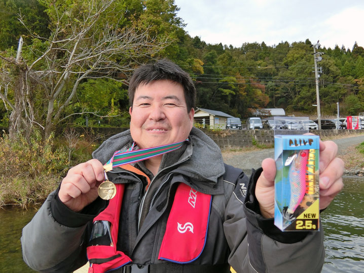 2019年第5回バス釣り大会優勝者は【キャノピーさん】