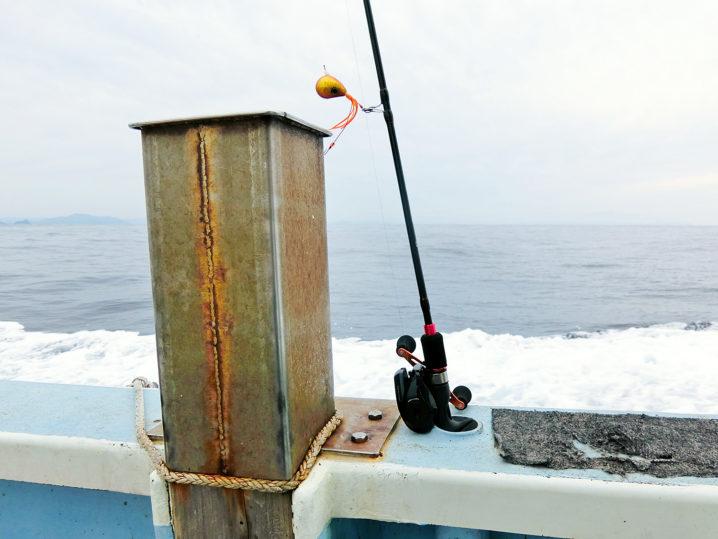 午後からは鯛ラバで鯛釣り開始